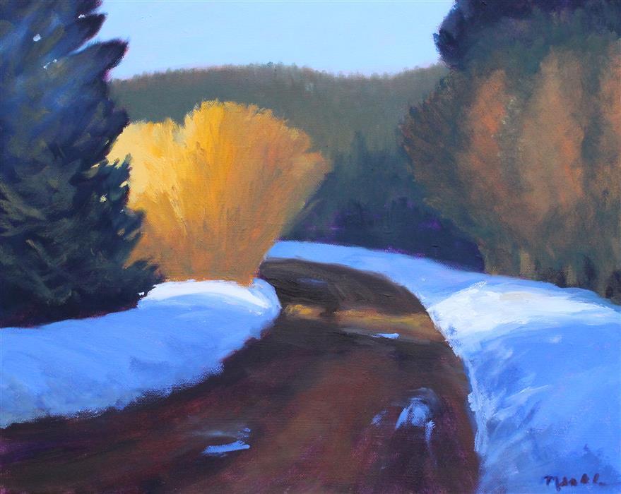 Discover Original Art by Nancy Merkle | Rainier Road oil painting | Art for Sale Online at UGallery