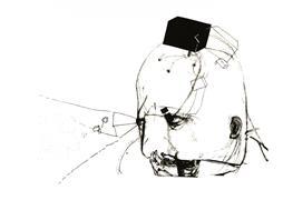Expressionism art,People art,Representational art,printmaking,Black Box IV