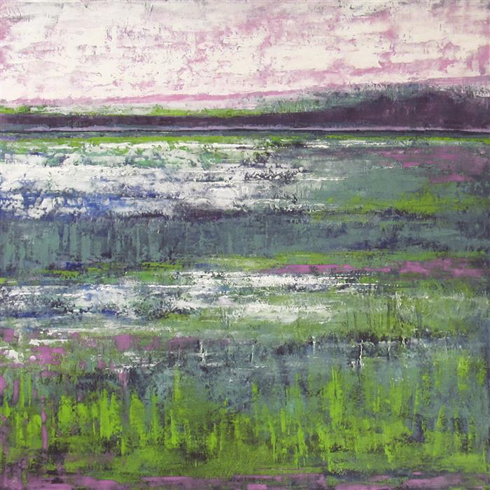 Discover Original Art by Valerie Berkely | Fen Land oil painting | Art for Sale Online at UGallery