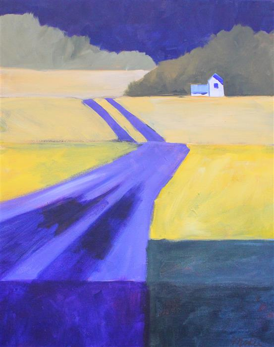 Discover Original Art by Nancy Merkle | Road Home acrylic painting | Art for Sale Online at UGallery