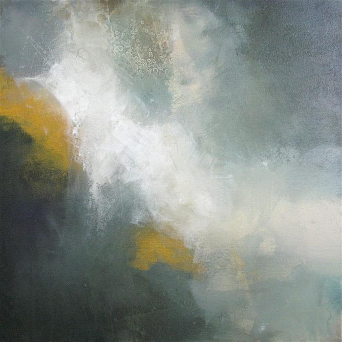 Discover Original Art by Karen Hale | Through the Mist acrylic painting | Art for Sale Online at UGallery