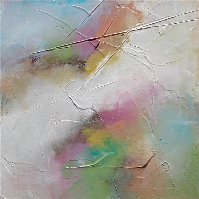 Discover Original Art by Karen Hale | First Blush acrylic painting | Art for Sale Online at UGallery