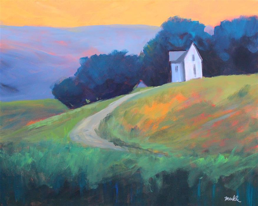 Discover Original Art by Nancy Merkle | Country House acrylic painting | Art for Sale Online at UGallery