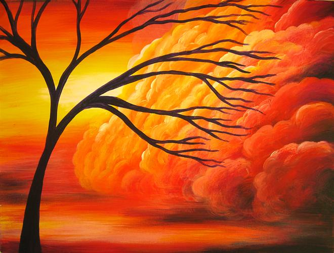 zoom     Acrylic Paintings Sunset