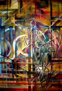 Original art for sale at UGallery.com | Coexisting as One by Piero Manrique | $925 | oil painting | http://www.ugallery.com/oil-painting-coexisting-as-one