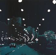 Discover Original Art by Maria Dimanshtein | Lake Shore Drive printmaking | Art for Sale Online at UGallery